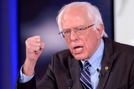 "Bernard ""Bernie"" Sanders, político estadounidense."