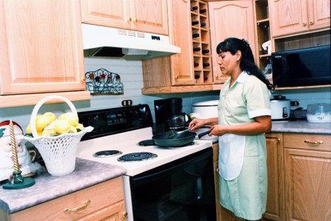 Trabajadora doméstica.