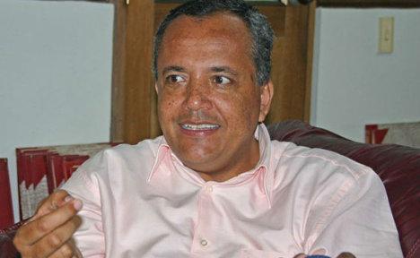 Óscar Barreto Qiroga, gobernador del Tolima.