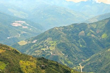 Alto de Chirí visto desde Toledo. Foto Bibiana Ramírez, APR.