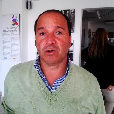 Isaías Garzón, presidente del Sindicato Nacional de Trabajadores del Sector Público en Colombia (Sintradistritales)