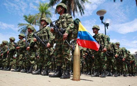 La Doctrina Damasco es la reedición de los tradicionales planes de guerra de los militares colombianos. Foto archivo.