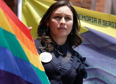Alba Reyes en lucha por la verdad.