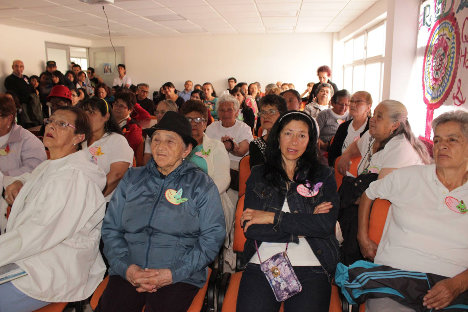 Diálogos de mujeres en Ciudad Bolívar, para decirle voto sí a la paz.