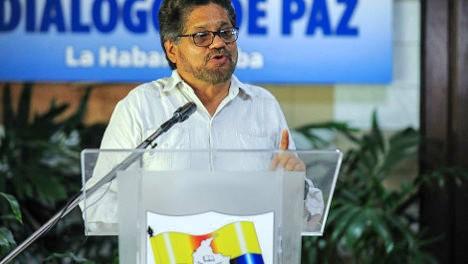 Iván Márquez, jefe de la Delegación de Paz de las FARC.