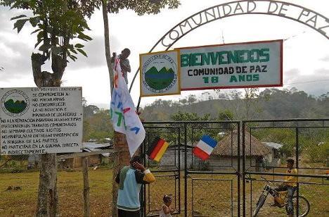 Comunidad de Paz San José de Apartadó.