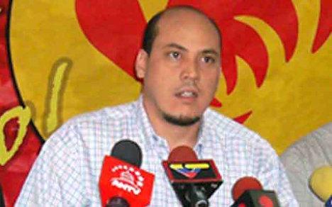Carlos Aquino, director de Tribuna Popular del Partido Comunista de Venezuela