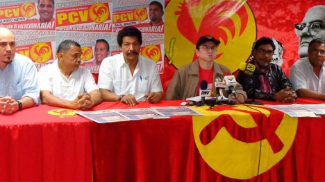 El Partido Comunista de Venezuela respaldó sin vacilación el proceso de diálogo de las FARC-EP con el gobierno de Colombia.