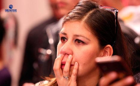 Con sorpresa recibieron los activistas del Sí los resultados adversos del plebiscito