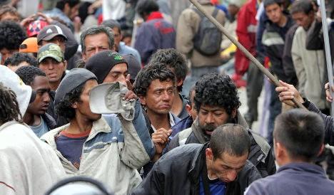 Aumenta la indigencia en Bogotá.