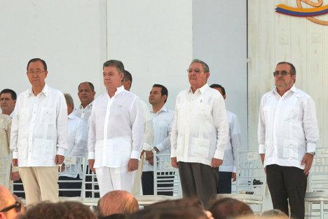 La firma del Acuerdo Final de La Habana fue un hecho histórico incuestionable. Foto Prensa FARC-EP.