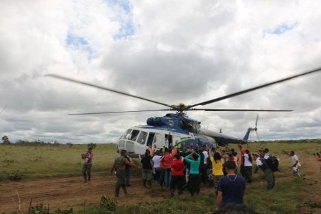Prisioneros políticos de las FARC de regreso a las cárceles.