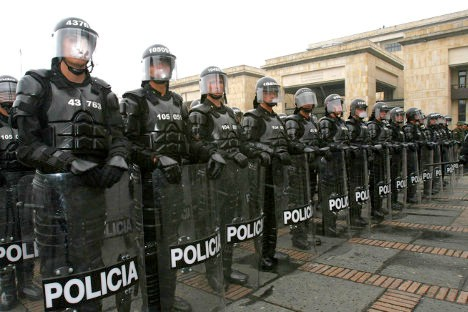 Esmad, cuerpo policial con varias denuncias de abusos.