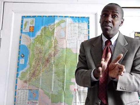 Juan de Dios Mosquera, director nacional del Movimiento Cimarrón, cuestionado por sus nexos políticos con la Usaid.